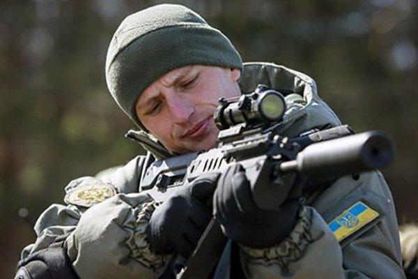 soldato ucraino