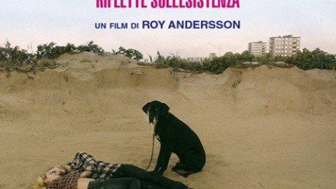 Un piccione seduto su un ramo riflette sull'esistenza – Roy Andersson