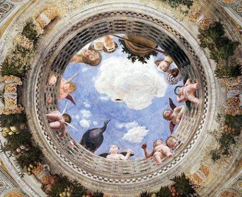 Sguardi divertiti e penetranti nella Camera degli Sposi a Mantova