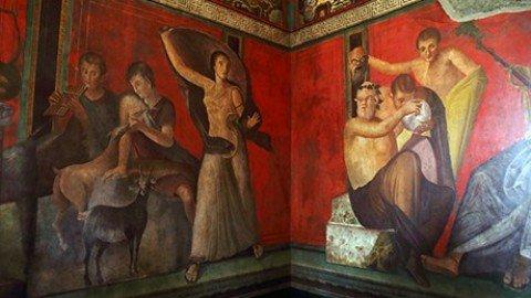 La restituita Villa dei Misteri di Pompei