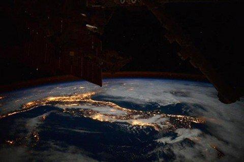 Da quassù la Terra è bellissima