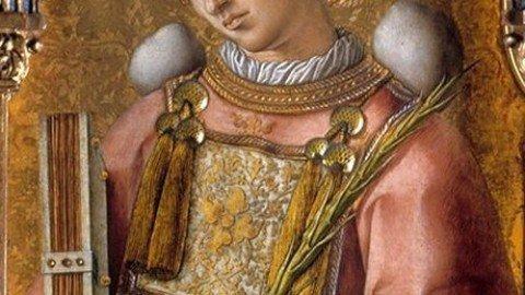 L'iconografia di Santo Stefano: se sei cristiano, ti tirano le pietre