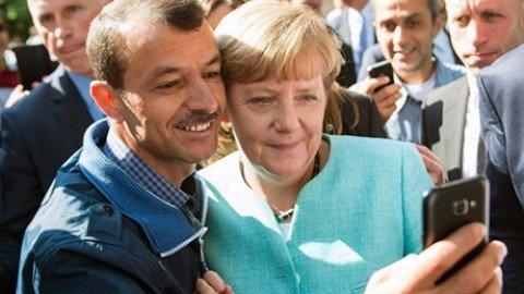 Retromarcia della Germania, respinge il 10% di profughi