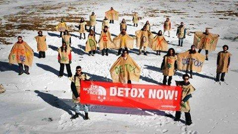 Nudi o in maschera contro Pfc, mobilitazione globale di Greenpeace
