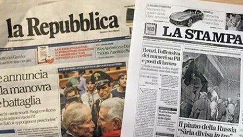 Repubblica – La Stampa verso fusione: siglato memorandum d'intesa