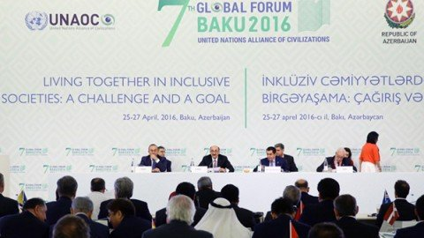 A Baku, il Forum dell'Alleanza delle Civiltà per la lotta all'odio e alla violenza