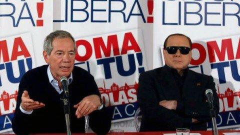 """Roma, Bertolaso: """"Berlusconi mi ha chiesto il sacrificio di andare avanti"""""""