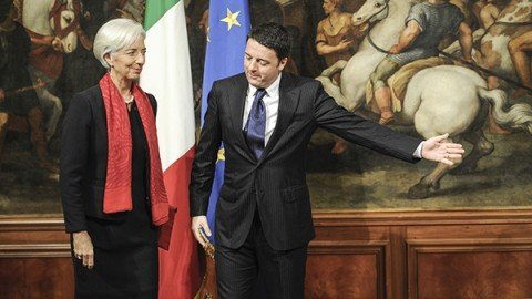 Fmi taglia stima Pil Italia a +1% in 2016. Allarme debito: cresce anche quest'anno