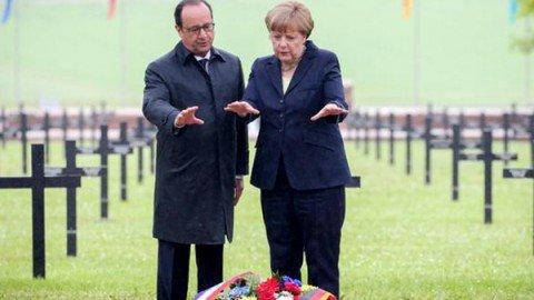 Centenario della battaglia di Verdun: appello franco-tedesco all'unità europea