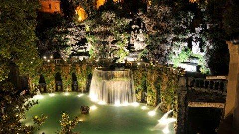Villa d'Este a Tivoli, la magnificenza viene da Ferrara