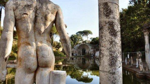 Cartoline dall'Impero: le suggestioni dei viaggi confluite nella Villa Adriana di Tivoli
