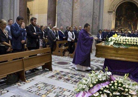 A Roma e Pomezia i primi funerali delle vittime del terremoto
