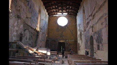 Quando il terremoto ferisce il patrimonio artistico e l'identità civica
