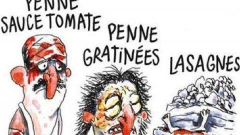 La vignetta di Charlie Hebdo sul terremoto fa infuriare la rete