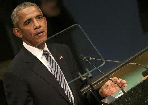 """Obama, l'ultima volta all'ONU: """"Mosca tenta di riguadagnare con la forza la gloria perduta"""""""