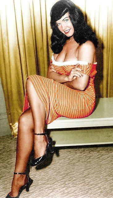 Betty Page Nashville, 22 aprile 1923 – Los Angeles, 11 dicembre2008), è stata una modella statunitense, conosciuta per essere stata una delle prime e più sensuali e note pin-up, attiva soprattutto negli anni cinquanta.