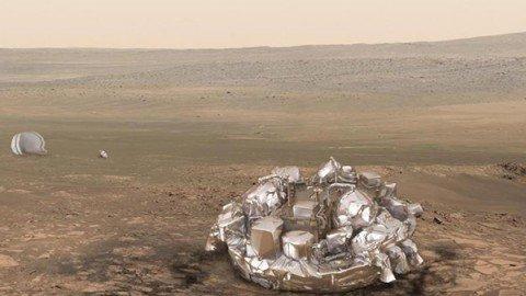 ExoMars, attesa la conferma definitiva dell'atterraggio del lander Schiaparelli