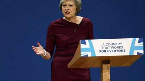 """Regno Unito: May apre la stagione del """"conservatorismo sociale"""""""