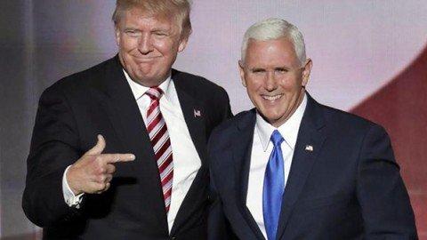 """Trump dopo la bufera per il video sessista: """"Non mollo"""". Il suo vice Pence: """"Parole indifendibili"""""""