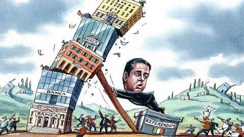 Referendum, Financial Times: se vince il No in dubbio l'Italia nell'euro