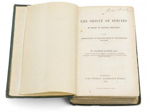 L'origine delle specie: quando l'uscita di un libro cambia la storia