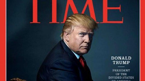"Donald Trump è la ""Persona dell'anno"" per Time"