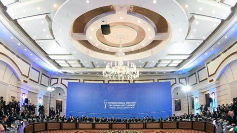 Siria, al via i colloqui ad Astana: ribelli e regime allo stesso tavolo