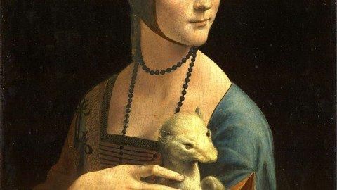 La  leonardesca Dama con l'ermellino, ritratto di un amore elegante e al contempo passionale
