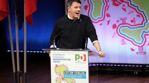 """Renzi: """"C'è solo un modo per evitare il caos, arrivare al 40%"""