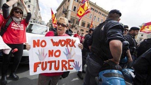 Italia in deflazione: non accadeva dal 1959