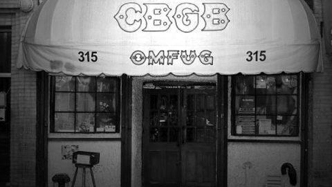 CBGB –  Un Venerdì sera del 1978 a New York