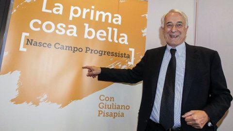 """Pisapia lancia """"Campo Progressista"""""""