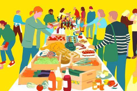 Millepiani coworking – vivere senza supermercato, una realtà tutta romana
