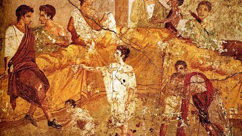 Il cibo e l'arte prima puntata: I banchetti degli aristocratici romani