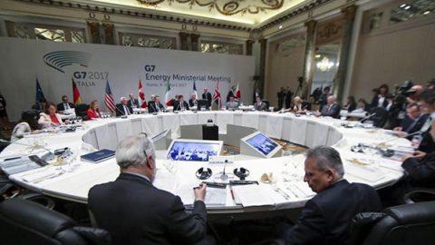 G7 energia, gli Stati Uniti bloccano la dichiarazione congiunta