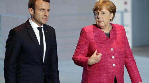 Macron e Merkel: possibile cambiare i trattati Ue