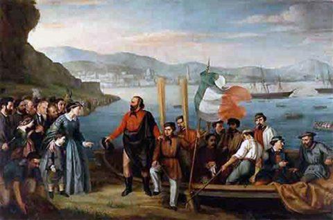 """""""Fare l'Italia"""": lo sbarco dei Mille a Marsala"""
