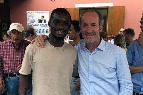 """Zaia posta una foto con un calciatore nero. Commenti razzisti e insulti: """"Così perdi punti"""""""