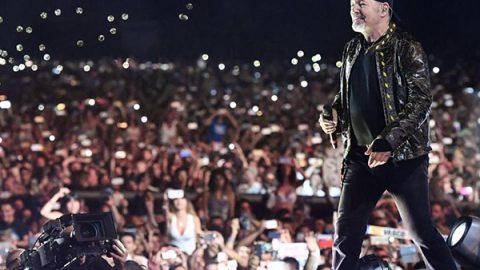 """Il giorno dopo lo show Vasco ringrazia i fan: """"È stata la tempesta perfetta"""""""