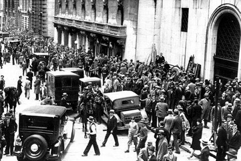 Corsi e ricorsi: il giovedì nero e la crisi del 1929
