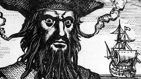 La storia di Edward Teach meglio noto come Barbanera