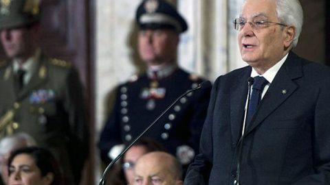 """Mattarella: """"Le proposte dei partiti in campagna elettorale siano comprensibili e realistiche"""""""