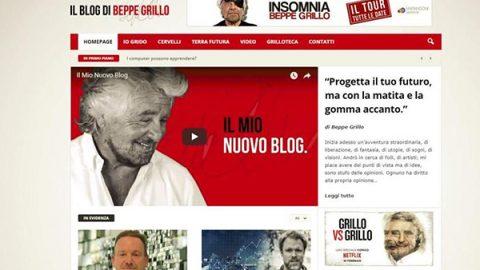Grillo divorzia dalla Casaleggio: un nuovo blog per parlare di utopia e futuro