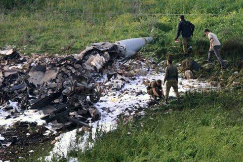 Battaglia nei cieli della Siria, abbattuto F-16 israeliano