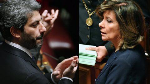Chi sono Roberto Fico e Maria Elisabetta Alberti Casellati, nuovi presidenti delle Camere