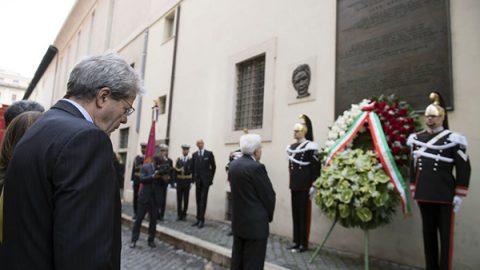 """Moro, Mattarella: """"Rapimento punto emblematico dell'attacco allo Stato"""""""