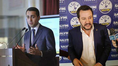 """Di Maio: """"Conte premier, orgoglioso della scelta"""". Salvini: """"Pronti a partire, Ue non tema"""""""