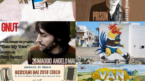 Take a look around: 21/27 maggio