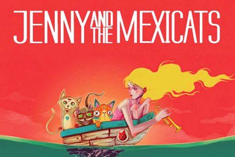 Jenny & the Mexicats // Mar abierto/Open sea (2017)