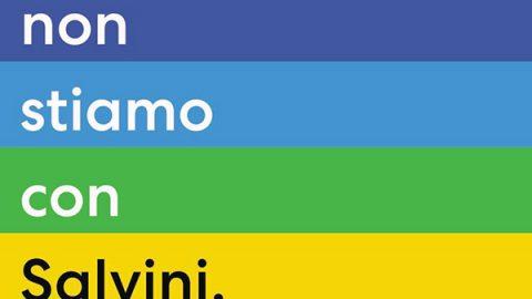 """""""Da ora chi tace è complice"""", il primo manifesto anti-Salvini è firmato dalla cultura pop"""